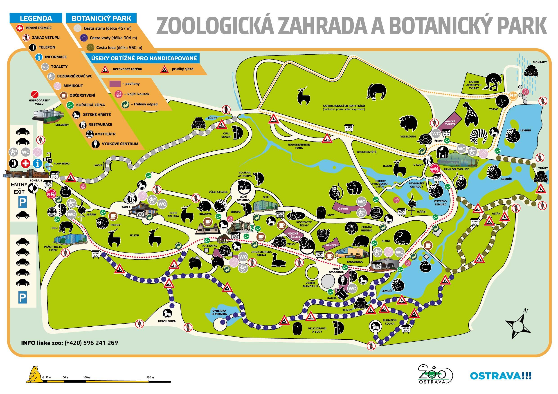 mapa zoo Mapa zoo   Před návštěvou   Zoo Ostrava mapa zoo
