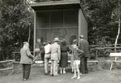 letní klec mandrila, r. 1960
