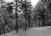 hlavní návštěvnická trasa, r. 1960